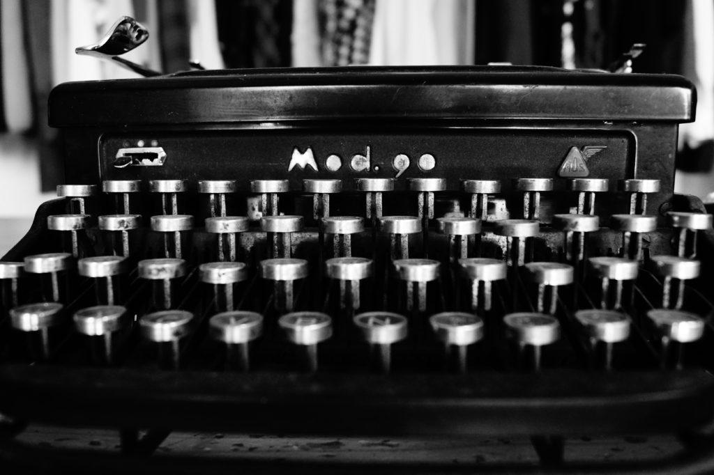 maszyna do pisania Wianki słów