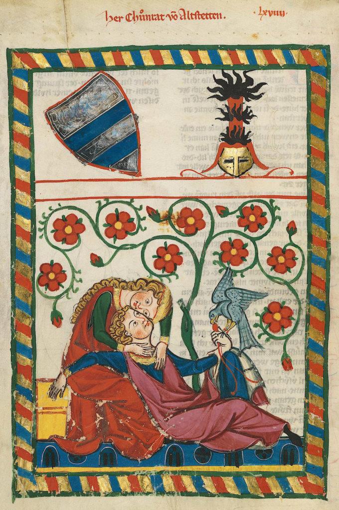 Karta z Codex Manesse