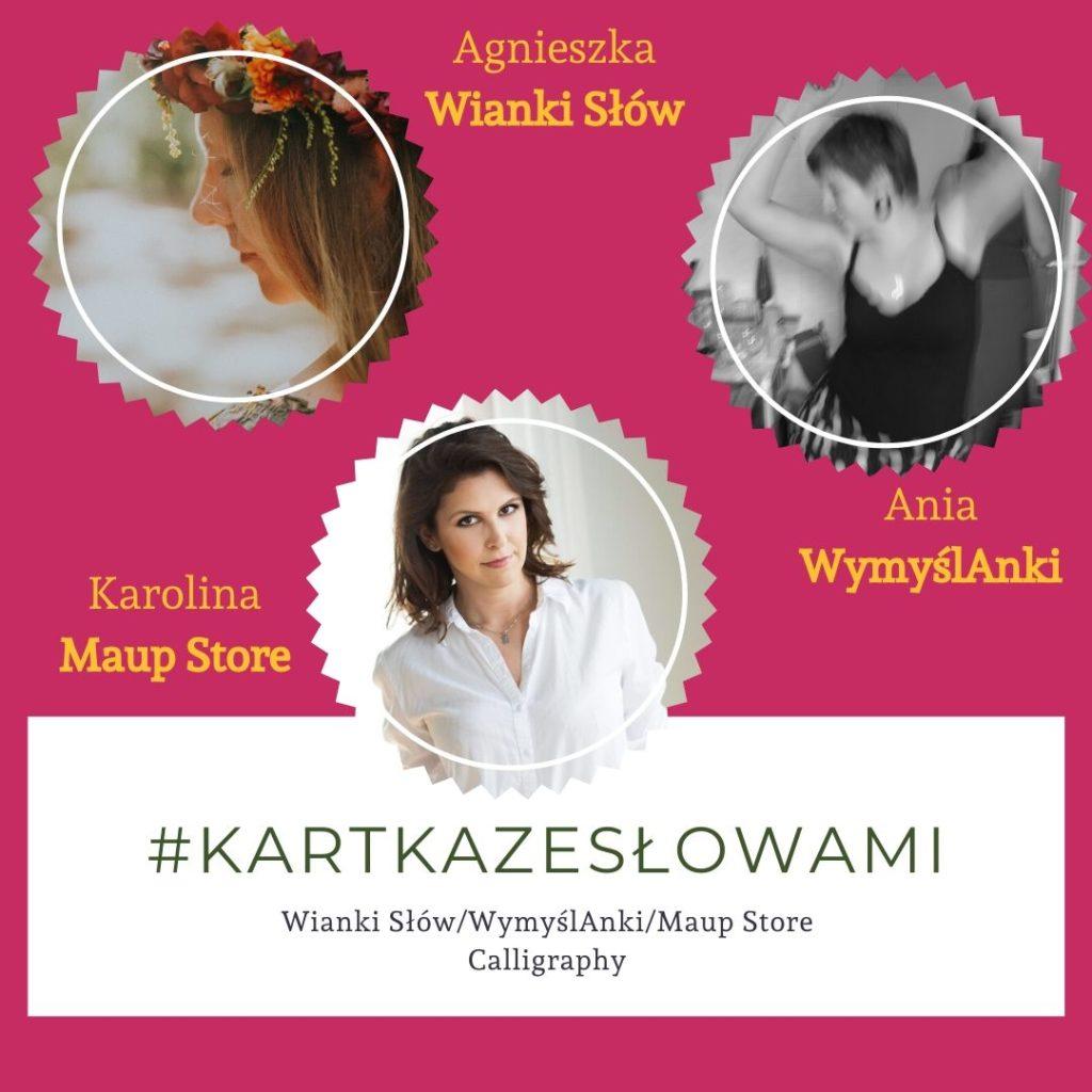 #kartkazesłowami Wianki Słów WymyślAnki Maup Store