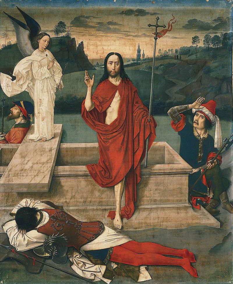 Dirk Bouts, Zmartwychwstanie (XV w.)