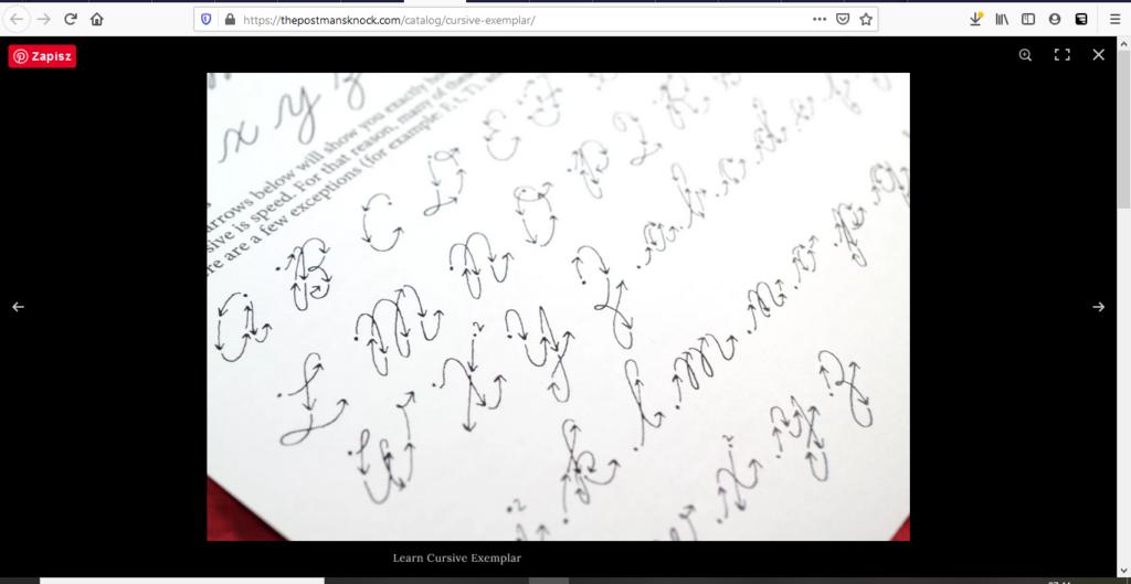 thepostmansknock.com kaligrafia lettering