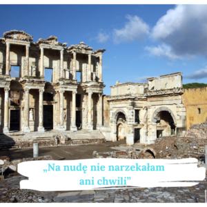 Biblioteka w Efezie. Na nudę nie narzekałam nigdy - cytat z wywiadu z bibliotekarką