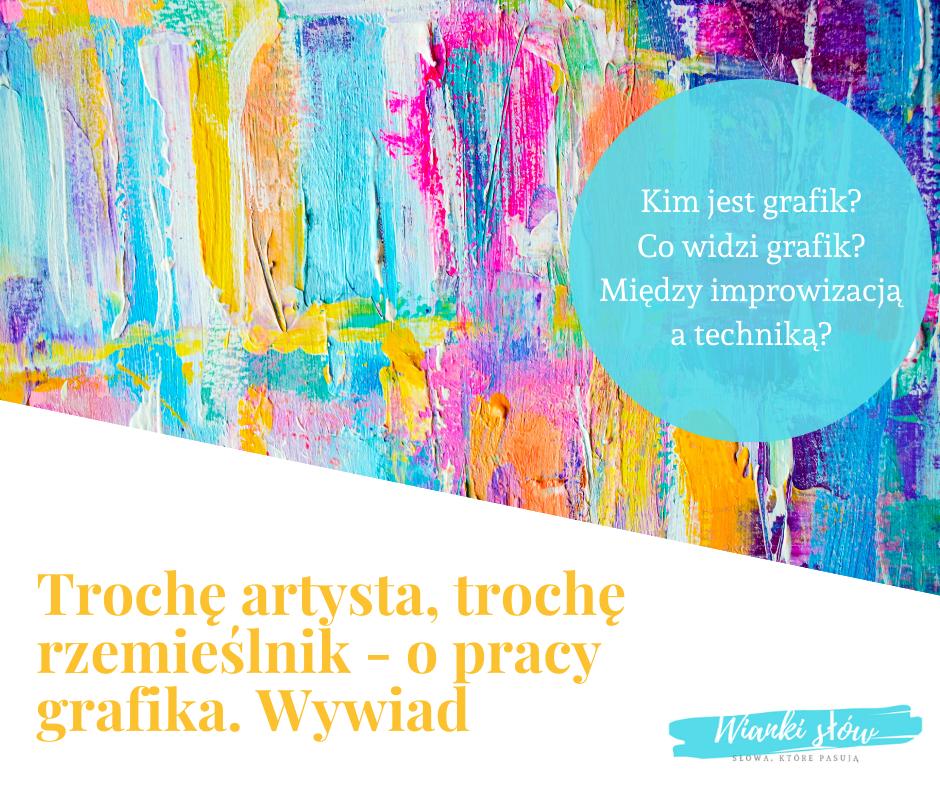 Wywiad z Dominiką Krogulską-Nowicką, graficzką