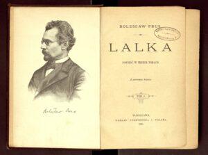 Bolesław Prus, Lalka