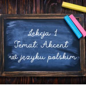 Akcent w języku polskim